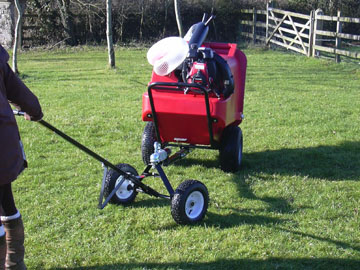 Trafalgar PC500 paddock cleaner for sale